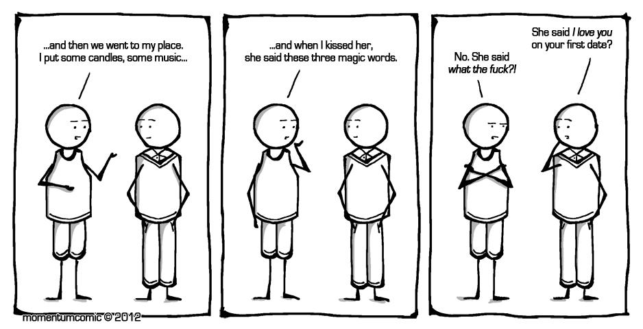 three magic words