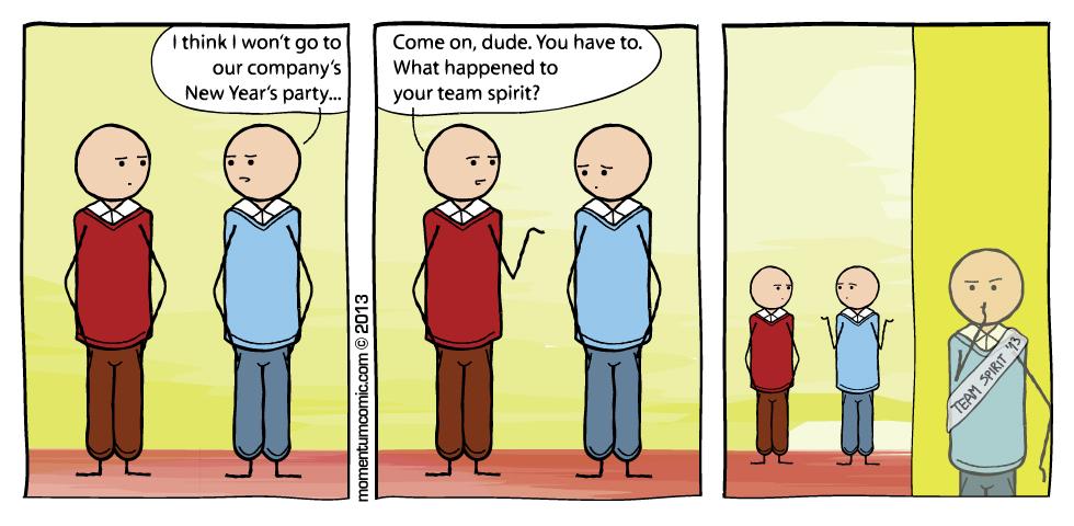 team spirited