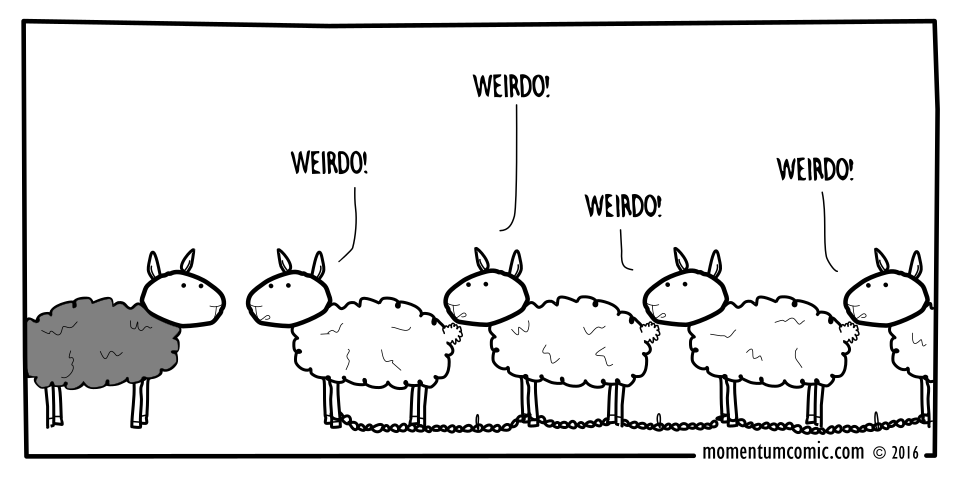 sheep weirdo